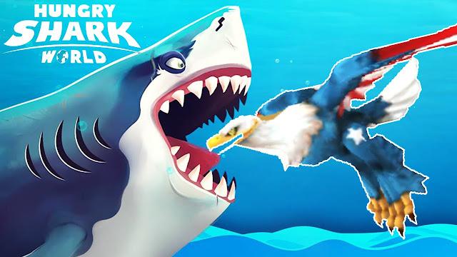 تحميل لعبة Hungry Shark World أخر اصدار