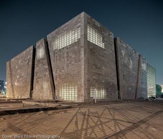 Transparent Concrete Structure