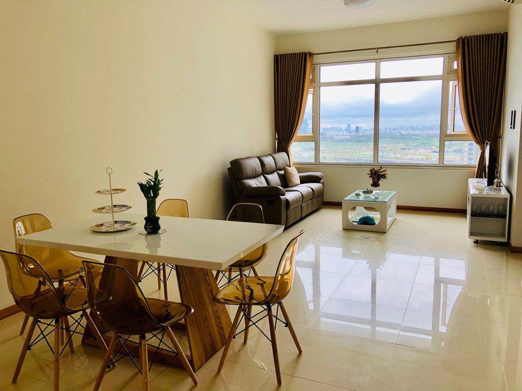 Shapphire 1 Saigon Pearl cho thuê căn hộ 2PN nội thất mới 1100$