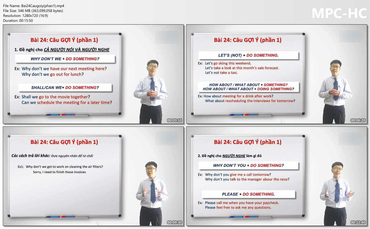 Video và tài liệu khóa học Chiến lược học TOEIC từ A đến Z