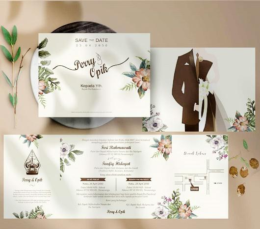 10 Desain Undangan Pernikahan Yang Elegan - Pakar Teknik