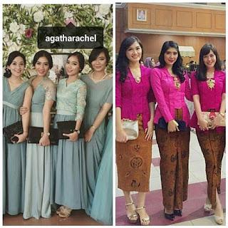 Baju Kebaya Batik Pesta