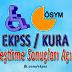 EKPSS/KURA Yerleştirme Sonuçları açıklandı