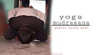 Yog mudrasana steps benefits in Hindi