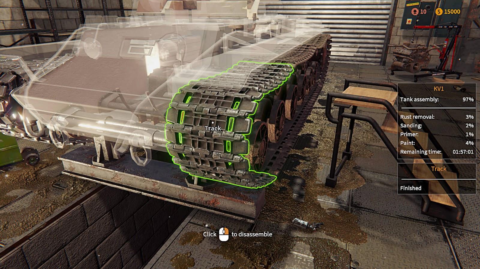 Tank Mechanic Simulator Full Español