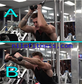 cable tricep extension with rope, exercises for triceps