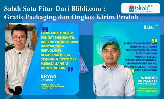 Jualan di Blibli Gratis Packaging dan Ongkos Kirim Produk