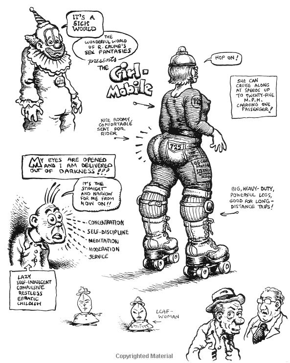 Attempted Bloggery: Book Review: The R. Crumb Sketchbook