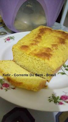 PÃO LOW CARB COM KEFIR DE LEITE
