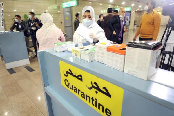 حالتا وفاة وتسع حالات إصابة بفيروس (كورونا)  المستجد في مصر