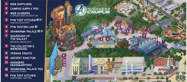 Marvel-Avengers-Campus-Disneyland-Opening-map