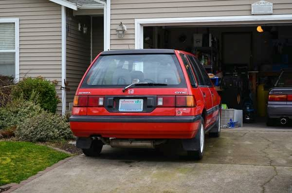 1989 Honda Civic Wagon 4wd For Sale