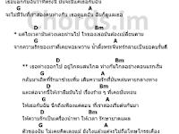 คอร์ดเพลง ไม่ถือโทษ โกรธเคือง - Phumin (ภูมิมินท์ บึงชารี)