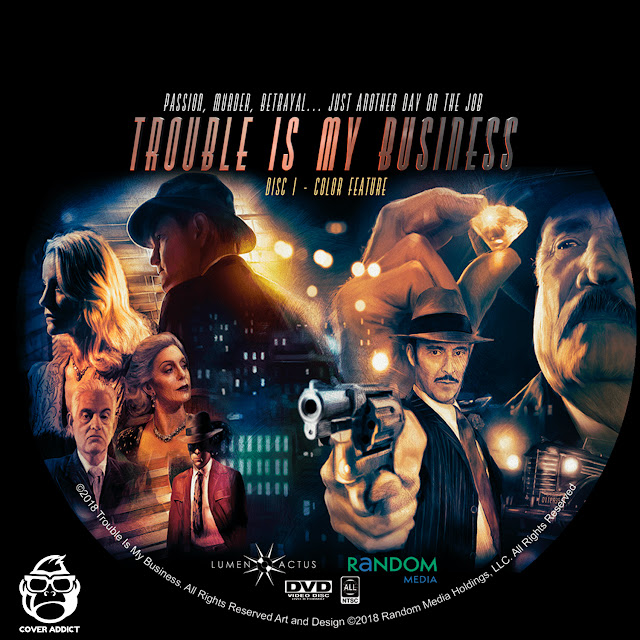 Trouble Is My Business DVD Label