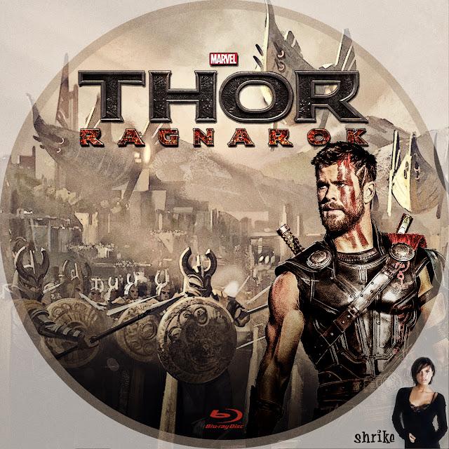 Label Bluray Thor Ragnarok