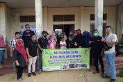 Pemuda dan Remaja Masjid Keudah Bantu Pengungsi Rohingya