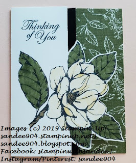 Papercrafting Monthly Blog Hop July Magnolia Lane