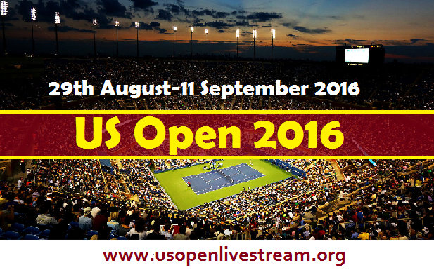 US Open 2016 live Streaming