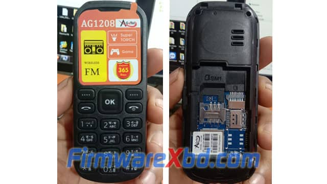 Agetel AG1208 Flash File 6531E Official Firmware 100% Tested