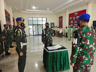 Serah Terima Jabatan Dan Denpom XIV/4 Makassar, Mayor CPM Bram Vidya Krishnayana