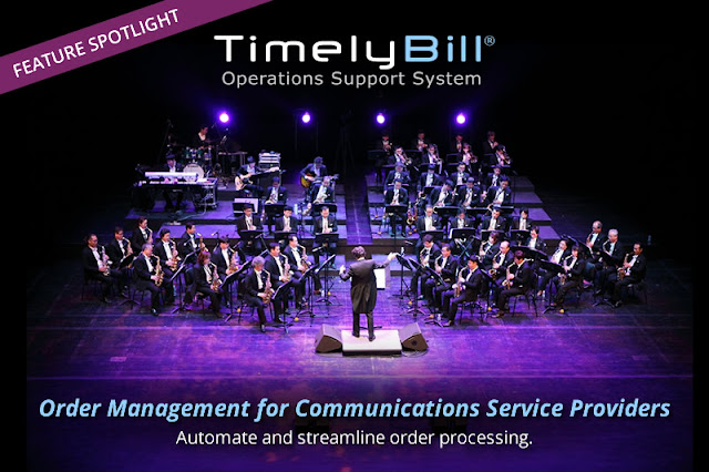 Order orchestration for telecom
