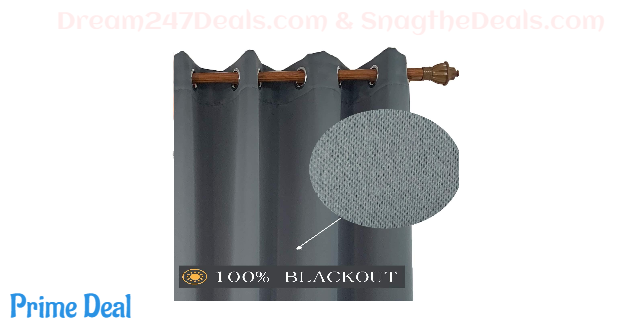 50% OFF  Thermal Insulated Blackout Curtains