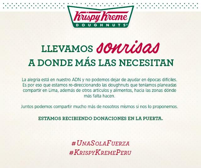 Krispy Kreme Perú