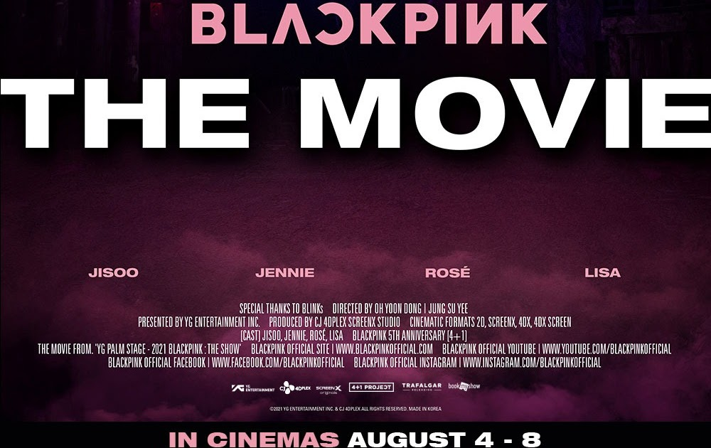 """A Special Gift to BLINKS - """"BLACKPINK THE MOVIE"""" Coming to Cinemas on 4 - 8 August"""