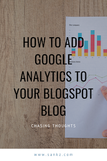 How to Add Google Analytics to your Blogspot Blog