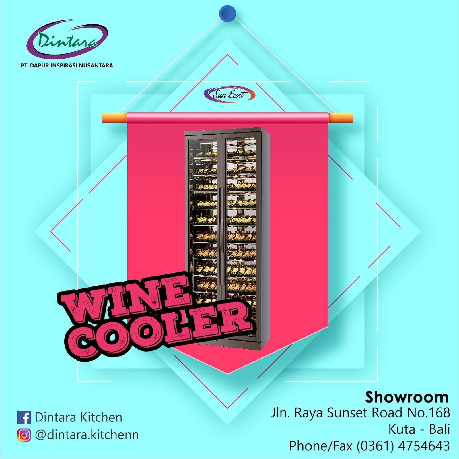 Wine Cooler Termurah dan Berkualitas di Bali