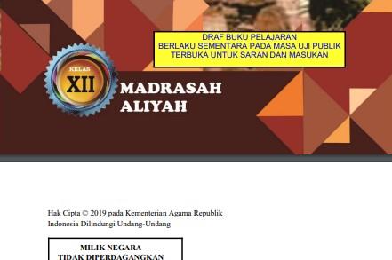 Download Buku Digital MI MTs MA Revisi 2020 Lengkap