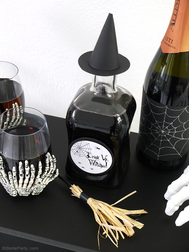 quick easy halloween party crafts with free printables get your craft on with these