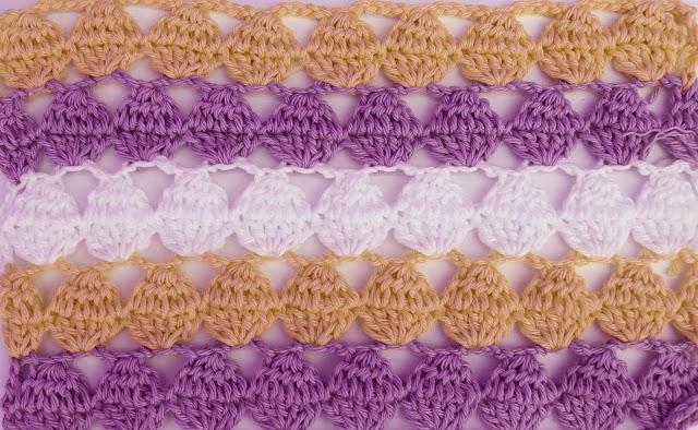2 - Crochet Imagen Puntada calada colorida a crochet y ganchillo por Majovel Crochet