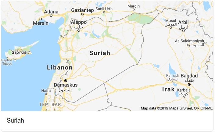 Syria Map HD