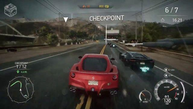 Need For Speed Rivals Game Play of PC
