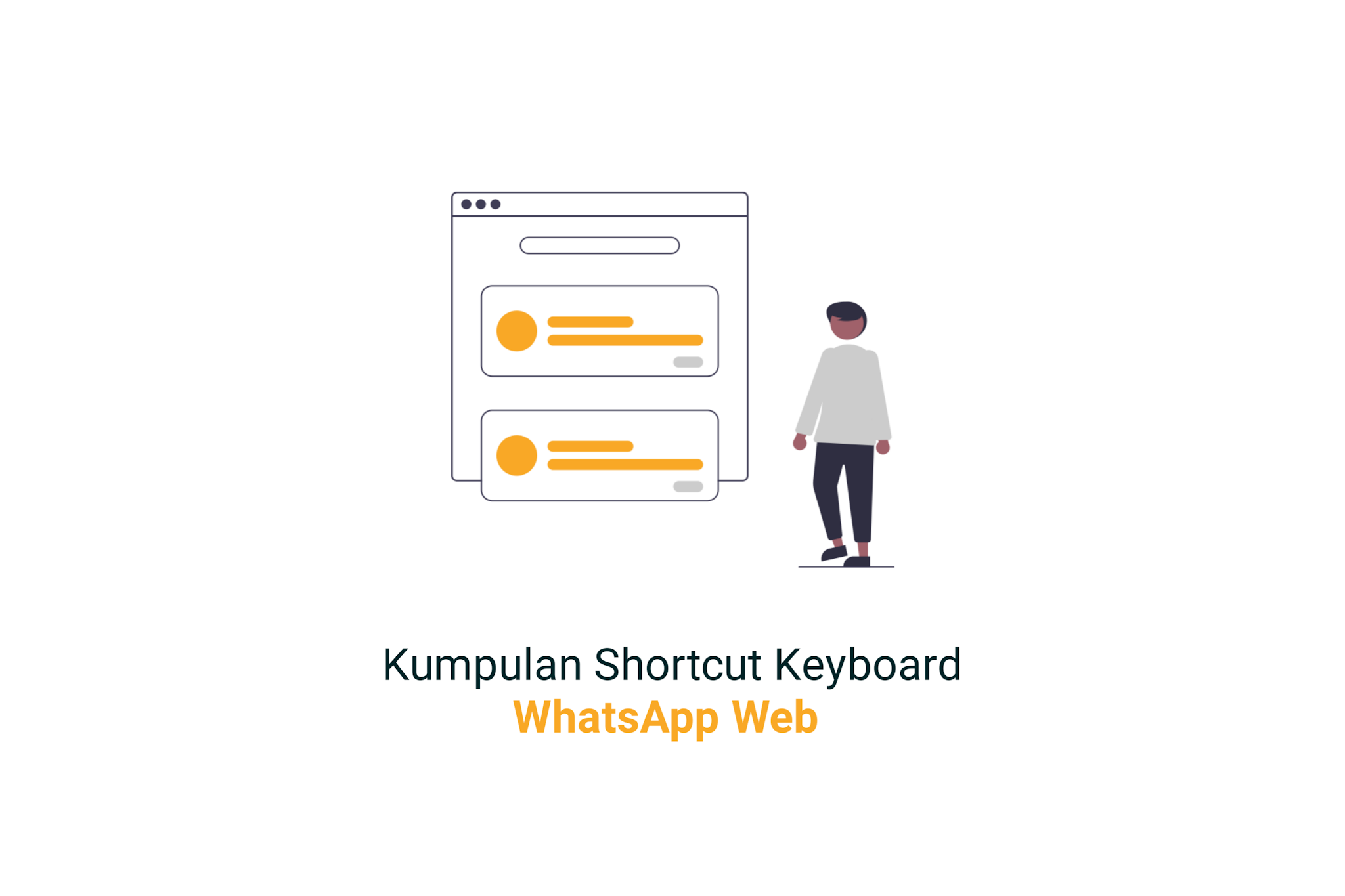 Kumpulan Shortcut Keyboard di WhatsApp Web