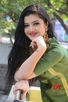 Akshitha cute beauty in Green Salwar at Satya Gang Movie Audio Success meet ~  Exclusive Galleries 028.jpg
