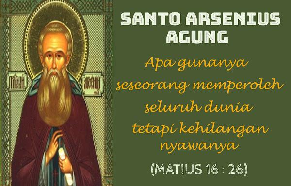 Santo Arsenius Agung