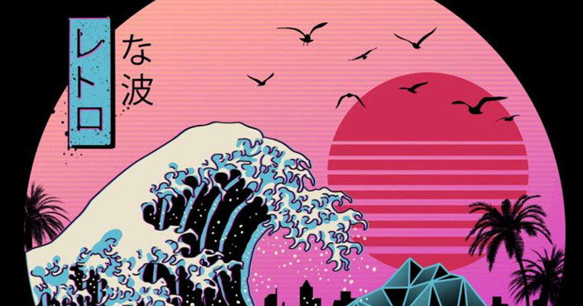 With tenor, maker of gif keyboard, add popular aesthetic animated gifs to your conversations. The Great Wave off Kanagawa Retro