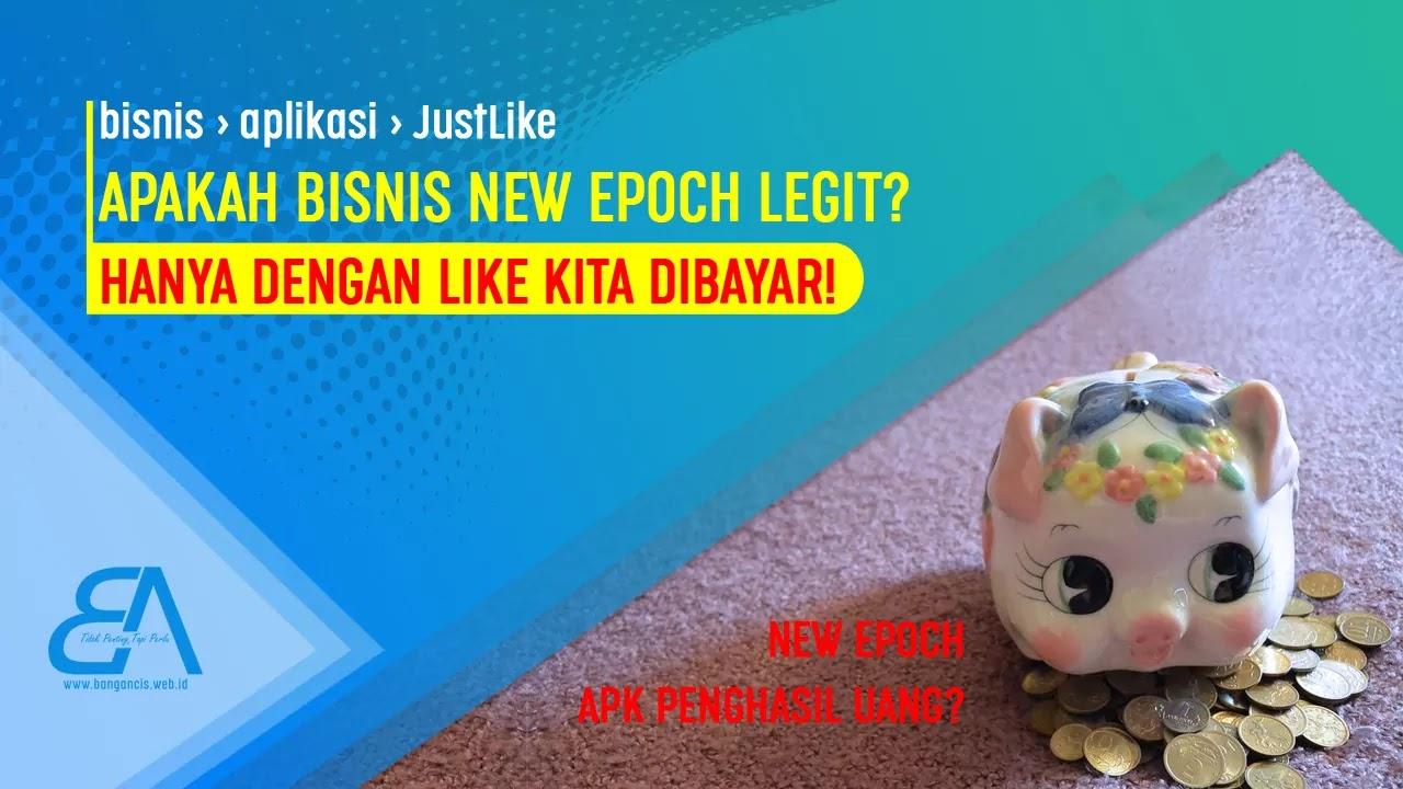 New Epoch, Aplikasi Penghasil Uang