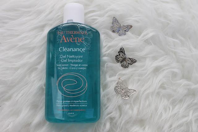gel limpiador de avene Cleanance