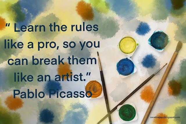 Pablo Picasso Artist Quote