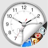 تحميل تطبيق الساعة لإخفاء الفيديوهات و الصور - Clock The Vault للاندرويد