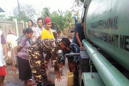 Kekeringan Melanda Warga Klego, Ansor Boyolali Bantu Air Bersih