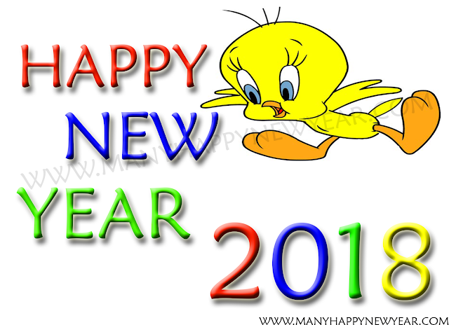 Clipart new year 2018 animations smiley funny cartoon pictures