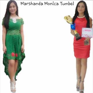 MONICA Sibening Putri Tewasen Raih Prestasi Modeling