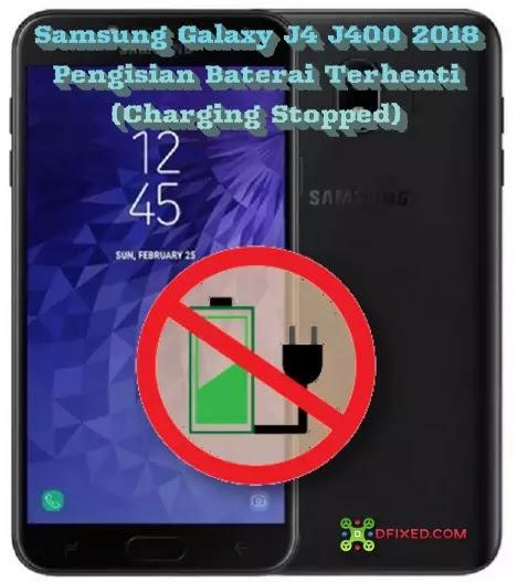 Samsung Galaxy J4 J400 2018 Charging Stopped
