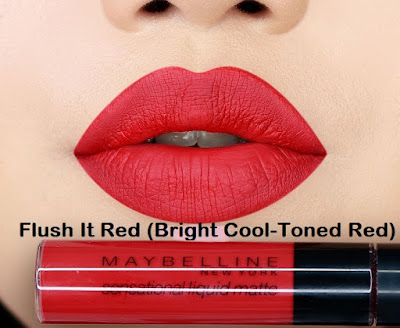 Flush It Red (Bright Cool-Toned Red)
