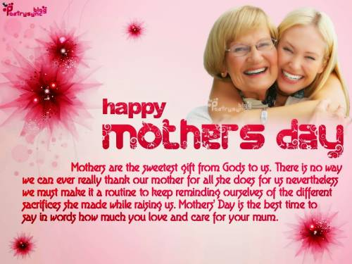 Happy Mothers Day Wishes for Wife: Best Mother's Day SMS And Message Collections