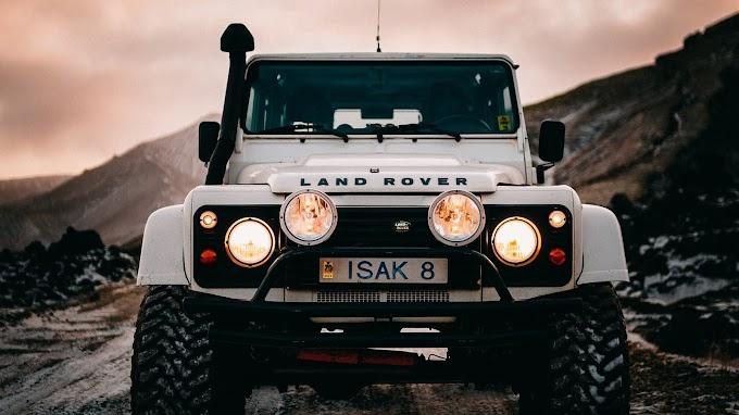 Land Rover Branco 4x4